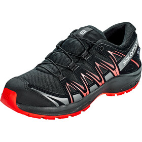 Salomon XA Pro 3D CSWP Sko Unge, black/black/high risk red